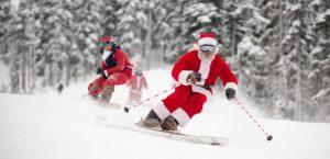 Le ski pendant les vacances de Noël